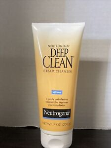 Neutrogena Deep Clean Cream Cleanser 7 fl oz NEW