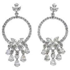 Boucles d'oreilles avec diamant