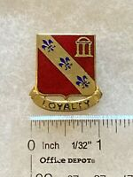 Authentic US Army 319th Field Artillery Group Unit DI DUI Crest Insignia D-22