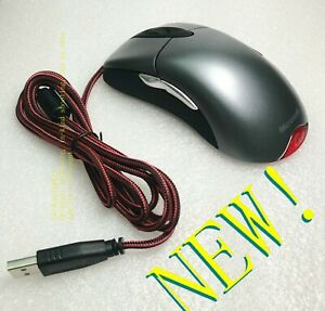 Microsoft Silver Light Shark IE3.0 mouse game / drawing / daily