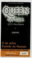 PORTUGAL QUEEN ON TOUR PAUL RODGERS TICKET 2005