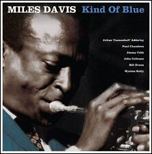 Miles Davis KIND OF BLUE (NOTLP220) 180g COLTRANE New Blue Colored Vinyl LP