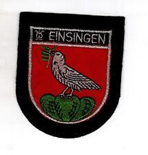 Écusson Patchs Armoiries Einsingen ( Ulm )