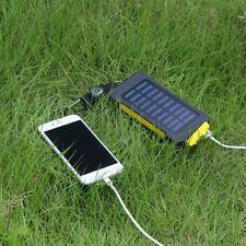 Waterproof 300000mAh Portable Solar Panel Battery Dual USB Power Bank Charger BP