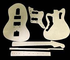 Jazzmaster Guitar Template Set  cnc made 100% accurate templates .
