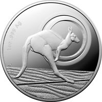 2021 Australia $1 Outback Majesty Kangaroo 1 oz Silver Proof Coin - 5,000 Made