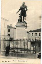 CPA Nérac-Statue Henri IV (264094)