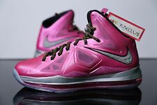 Nike Lebron 10 X PE Think Pink Breast Cancer Kay Yow 112 Friends & Family 13