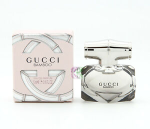 Gucci Bamboo Edp 5ml Perfume Eau de Parfum Women Miniature Fragrances New