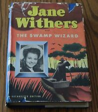 AS VINTAGE BOOK CALLED JANE WITHERS AND THE SWAMP WIZARD BY KATHRYN HEISENFELT