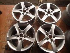 4 x Alufelgen RH 16 x 6,5 ET 45 MB A,B Klasse, VW Golf, Touran, Passat (c944)