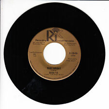 RUBY WRIGHT Dern Ya VG(+) 45 RPM