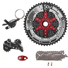 SRAM NX 1x11 11S Speed SUNRACE MX80 11-50T Cassette Kit MTB Bicycle Groupset