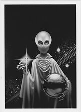 KELLY FREAS PRELIMINARY PHOTOPRINT 5 x 7 A SEPARATE STAR ART BOOK