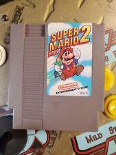 NES Nintendo Entertainment System Super Mario Bros 2 Video Game Free Shipping