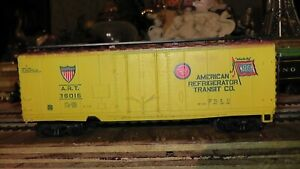 ho american refrigerator wabash rr box car