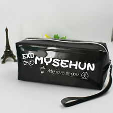 EXO LOVE ME RIGHT SEHUN SE HUN pencil case makeup-bag KPOP New