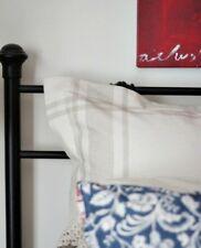 *Set of 2*Bed Bath & Beyond Heartland Euro Pillow Sham Delta Queen Beige Stripe
