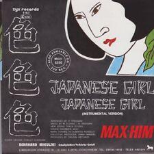 "Max Him Japanese Girl (Vocal & Instrumental) 1985 ZYX Italo Dance 7"" Single"