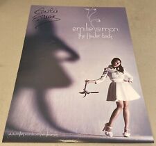 EMILIE SIMON the flower book RARE PROMO ONLY POSTER 11X17 BAND SIGNED RARE