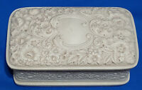 Vintage Incolay Handcrafted Trinket Box, 1970s