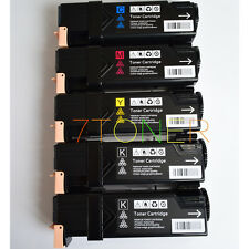 5 x Toner For Xerox Phaser 6500N 6500DN WorkCentre 6505DN 106R01594 ~ 106R01597