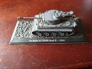 PZ.KPFW.VI TIGER Ausf.E TANK  (1:72 SCALE) COMBAT TANK