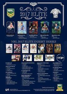 2017 NRL Elite Base Card Team Sets (10 Cards)