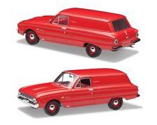 Ford 1962 XL Falcon Deluxe Van (Waratah Red) — 1:43 Trax Top Gear TR44B