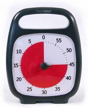 Time Timer PLUS anthrazit 60 Minuten visueller akustischer Kurzzeitwecker ADHS