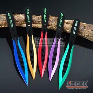 "3PC 6.75"" Ninja Kunai Star War Tactical Throwers  Knife Set w/Sheath"