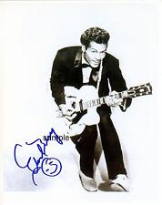 CHUCK BERRY 1 REPRINT 8X10 AUTOGRAPHED SIGNED PHOTO PICTURE COLLECTIBLE RP