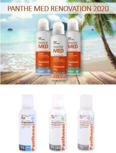 Panthenol Spray Foam SOS HELP Regeneration Skin & Tissue Aloe Vera Vitamin A E F