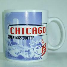 Starbucks Coffee Mug Cup Java CHICAGO 1999 City Grant Lincoln IL FREE SHIPPING
