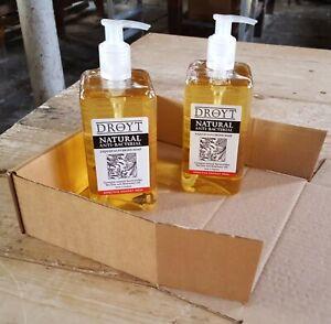 DROYT Anti Bacterial liquid glycerine soap 500ml - 2 pack