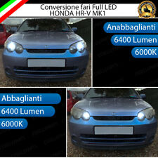 CONVERSIONE FANALI FULL LED HONDA HR-V MK1 ANABBAGLIANTI ABBAGLIANTI 6000K