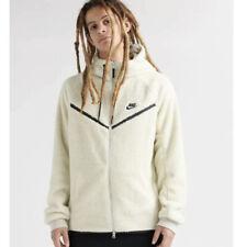 Men's Nike Sherpa Full-Zip Windrunner Jacket off white AQ2767 072 Size M
