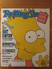 June 28 1990 Rolling Stone Bart Simpson Midnight Oil David Brower Jim Henson