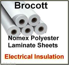 NOMEX LAMINATE 900 x 200 x 0.46mm THICKNESS  - FOR TESLA COILS WINDING