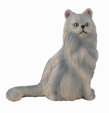 PERSIAN CAT Sitting #88329~ Realistic Cat Replica* FREE SHIP/USA w/$25+CollectA