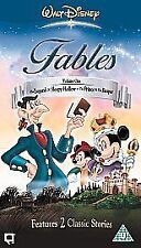 Walt Disney's Fables - Vol. 1 (VHS, 2003)
