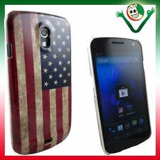 Cover per Samsung Galaxy Nexus I9250 BANDIERA USA custodia AMERICA Stati Uniti