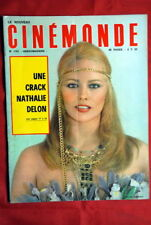 NATHALIE DELON ON COVER FRENCH CINEMONDE MAGAZINE 1969