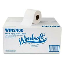 Single Roll 2-Ply Premium Bath Tissue (24 Rolls/Carton)