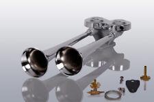 Lkw Druckluft Doppelhorn 38/42cm Zugventil Iveco Eurocargo Stralis X-Way Trakker