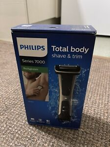 Philips Body Groomer, Series 7000 Showerproof, Ultimate Trimmer to Shave