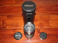 ALBINAR-ADG 1:5.6 75-300MM LENS WITH CASE AND LENS CAPS