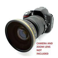 Wide Angle FISHEYE Macro Lens For Canon  Rebel T2i XSI T3 T3i T5I  for 18-55 HD4