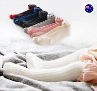 Girls Baby Kid Cotton Mix Warm Bottoms Tights Stocking Pantyhose 0-24months