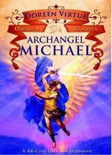 Doreen Virtue Archangel Michael Oracle Cards Deck Gilded Edges Very Nice!